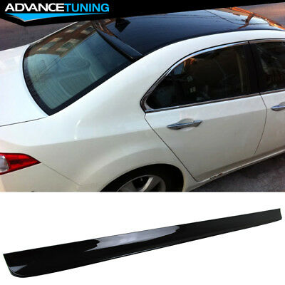 Fits G35 4 dr OE Style Painted Spoiler Wing Black Obsidian Clearcoat KH3