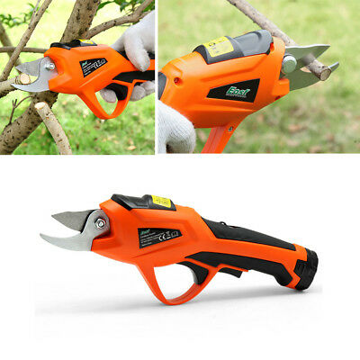 Electric 3.6V Battery Cordless Secateur Branch Cutter Pruning Shears Garden Tool