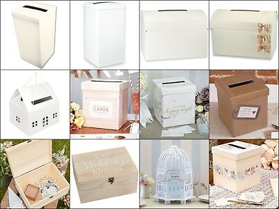 Wedding Guest Post Box, Bride, Groom, Favour, Party, Reception, Supplies, Gift