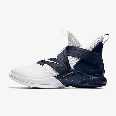 a895f7757f7aa Nike Lebron Soldier Xii 12 Sfg Witness White Midnight Navy Ao4054-100 Mens
