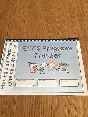 Childminder, Childminding, EYFS - Progress Tracker Book
