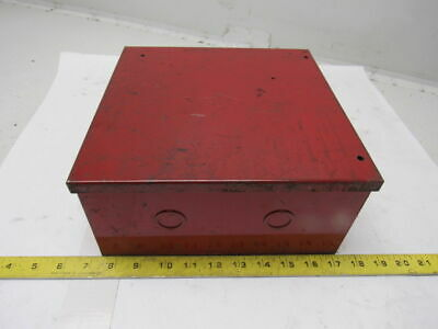 """AmbiTech 10 x 10 x 4.5"""" Red Electrical Enclosure Junction Box"""