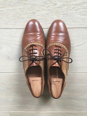 Original NEO TANGO men brown leather dance shoes. Buenos Aires. Size 7.5 (40.5)