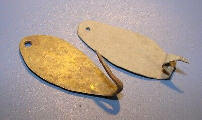 Ancient  Lifting For Fishing. Middle Ages. Bronze. Original. Rarity.
