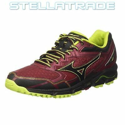 Wave Ultima 9, Chaussures de Running Homme, Multicolore (Safetyyellow/Silver/Black 05), 43 EUMizuno