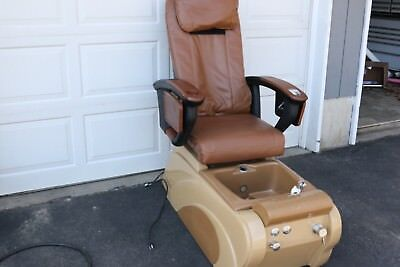 Human Touch Pedicure Chair With Massage & WHITE PEDICURE STATION Hydraulic Chair u0026 Massage Foot Spa Beauty ...
