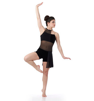 6494000b6cff Adult 2XL Contemporary DISTORTED Matrix Dance Costume Lyrical Ballet Dress
