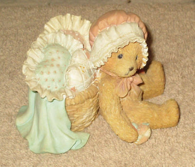 Cherished Teddies Jasmine You Have Touched My Heart Bear 1991 (CS-L)