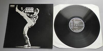 David Bowie - Man Who Sold The World 1983 German RCA LP with INTS Sticker