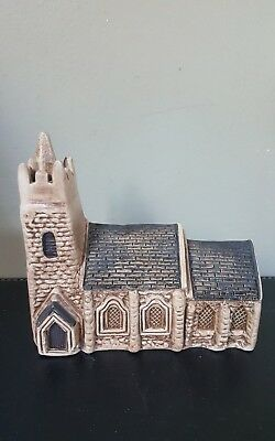 Philip Laureston Babbacombe Pottery Miniature Church with Spire No 721