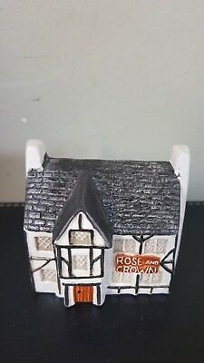 Philip Laureston Babbacombe Pottery Miniature House Rose & Crown Pub No715