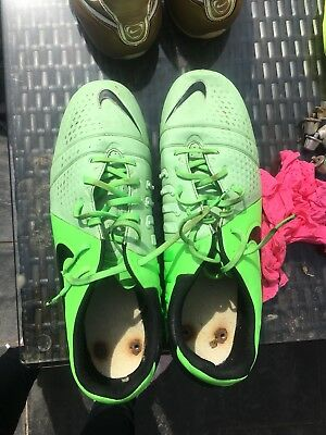 Nike Ctr 360 Maestri Lime Green Size 13 Uk Mens Football Boots