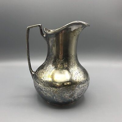 Silver plated  Pitcher Jug By Hutton & Sheffield