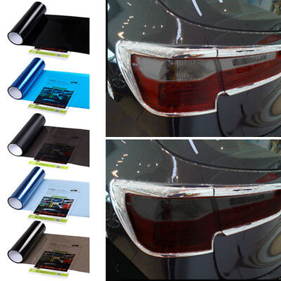 Car Styling Film Light Lamp Change Color Stciker Decal For Foglight Windshield