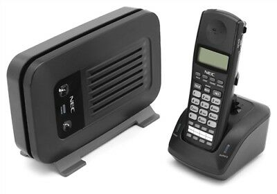 NEC  DTL-8R-1 Dterm DECT cordless w/base, charger, power supplies-new battery