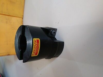 "New never used Sandvik Coromant 2"" indexable face mill"