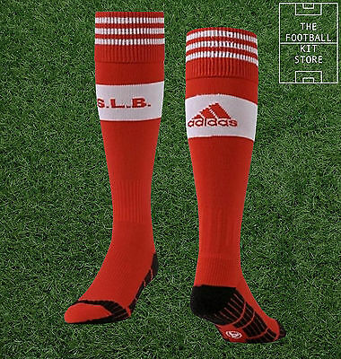 Benfica Home Socks -  Official Adidas SL Benfica Football Socks - All Sizes