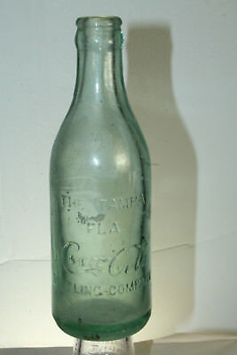 The Tampa Fla Coca Cola Bottling Company Straight Side Florida Bottle