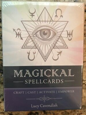 Magickal Spellcards by Lucy Cavendish NEW Sealed