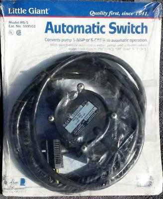 LITTLE GIANT RS-5 Model RS-5LL Remote Switch - Brand New in