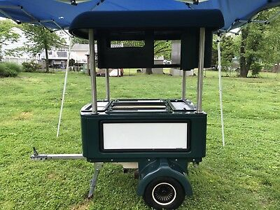 Beverage Cart,Portable Bar,Golf Cart,Concession Trailer