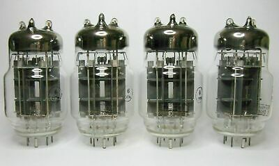 4pcs 6S33S / 6C33C Hi-End Amp Triode TUBES NEW NOS Same Date 1979 OTK marked