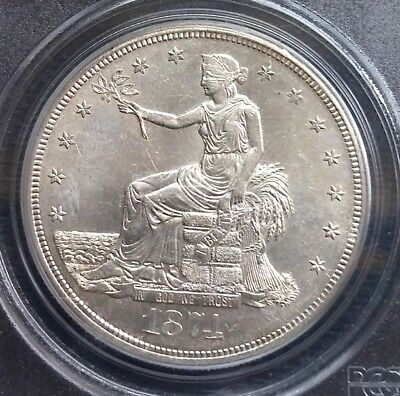1874 S Trade Dollar PCGS MS62 ( Old Green Holder )