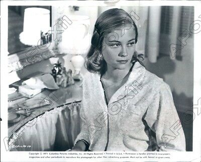 1972 Actress Cybill Shepherd in a Columbia Pictures Movie Press Photo