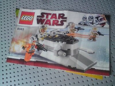 Lego Star Wars 8083 Rebel Trooper Battle Pack Complete With Box And