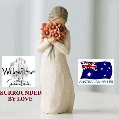 Willow Tree SURROUNDED BY LOVE Figurine By Susan Lordi  By Demdaco NEW IN BOX