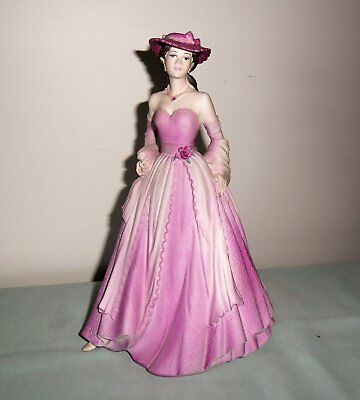 COALPORT PORCELAIN FIGURINE : AGE OF ELEGANCE : Evening Promenade 1994