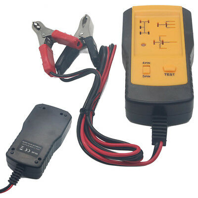 Universal Electronic Automotive Relay Tester for 12V Car Auto Battery Checker