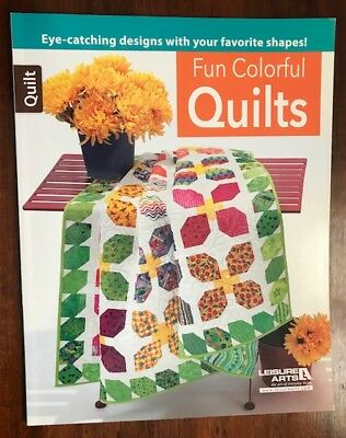 Fun colourful quilts - Quilting book