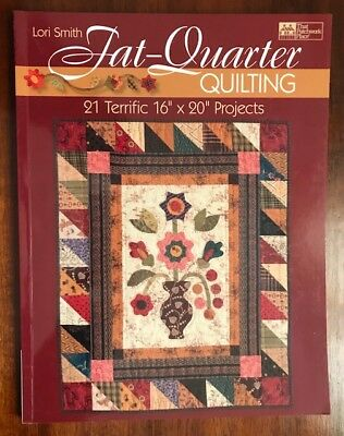 Fat Quarter Quilting - Quilting book