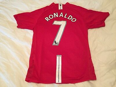 separation shoes ff419 004bb CHRISTIANO RONALDO NIKE Manchester United Jersey 2008-2009 XL NWOT