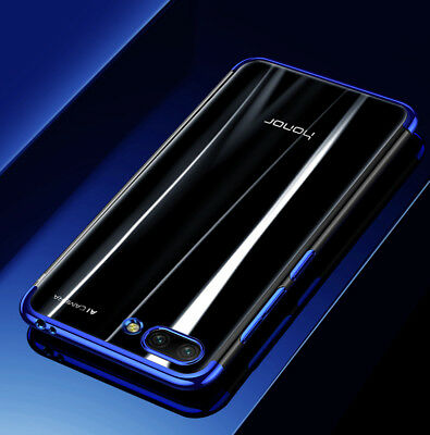 For Huawei Honor 10 Luxury Ultra Slim Plating Clear Soft TPU Case Cover