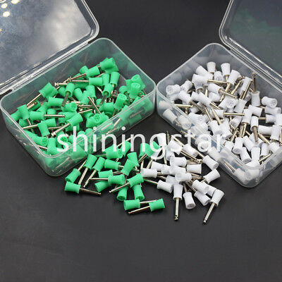 10 PCS Dental Prophy Tooth Polisher Polishing Cup Latch 6 Webbed Type Rubber