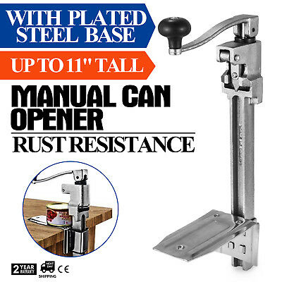 #1 Reliable Manual Can Opener with Plated Steel Base