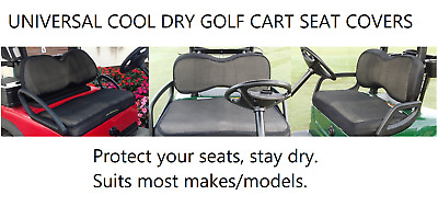 Universal Seat Covers Golf Cart Buggy Buggie Club Car EZGO Yamaha Protector