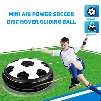 Mini Air Power Soccer Disc Hover Gliding Ball Sports Football Toy Gift Funny New