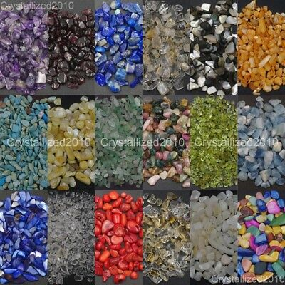 50g Natural Mini Amethyst Point Quartz Crystal Stone Rock Chips Healing Nail Art
