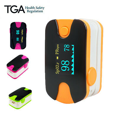 Pro Finger Blood Oxygen Oximeter Pulse OLED health SPO2 Heart Rate Monitor AU