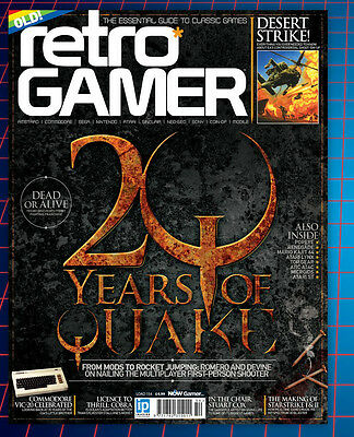 Retro Gamer Magazine Issue 154 (new) 2016