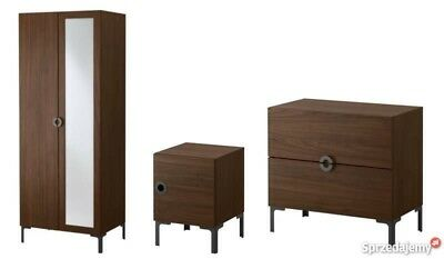 Used Engan Ikea Bedroom Furniture Wardrobe Night Stand Chest Of