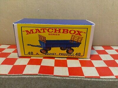Matchbox Lesney No40 Hay Trailer,     boxed,