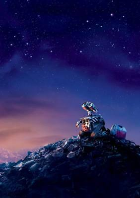 "15467 Hot Movie TV Shows - WALL E 2008 4 14""x19"" Poster"