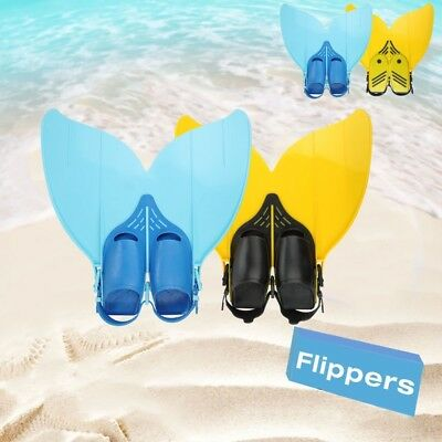 Gear Mermaid MONOFIN Kids Gift toys Swimming Swim Pool Flippers Finis Silicon