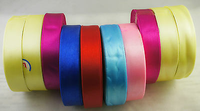 10 x Mixed Colour Ribbons Reels Packing Gift Wrapping Christmas Decoration (R7)