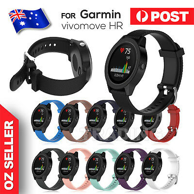 Replacement Wrist Band Silicone Band Strap for Garmin Vivomove HR / Vivoactive 3