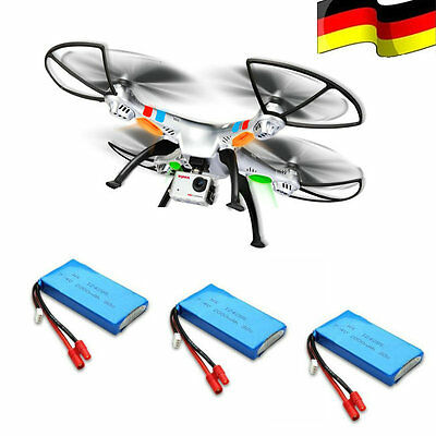 DE Lager 3x Akku SYMA X8G RC Drohne XXL 8MP Full HD Kamera Headless Quadrocopter